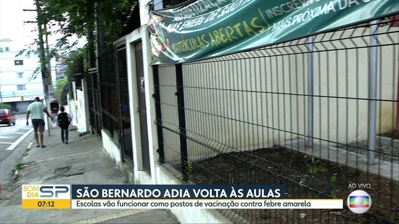 São Bernardo do Campo confirma primeiro caso de febre amarela