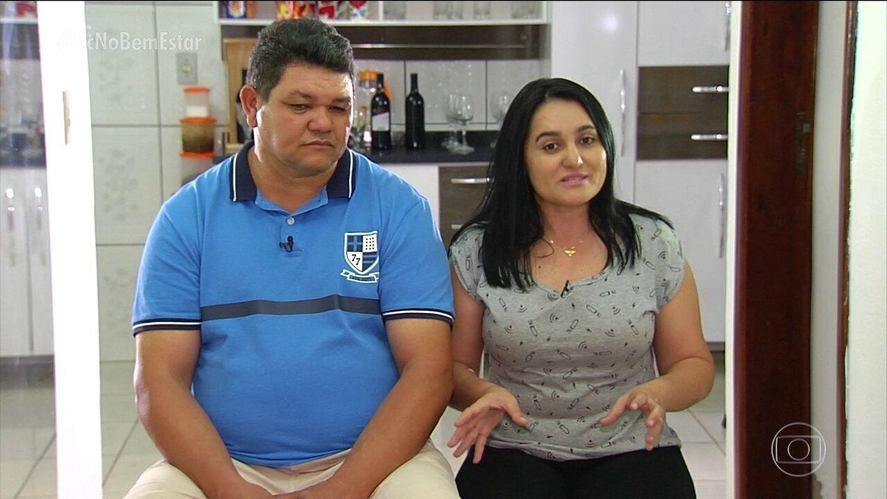 Maria Geruza e Francisco tentam a fertilização pela 4ª vez