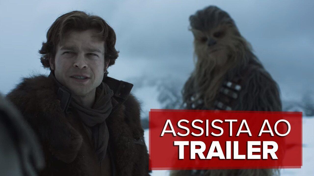 Veja o primeiro trailer de 'Han Solo: Uma história Star Wars'