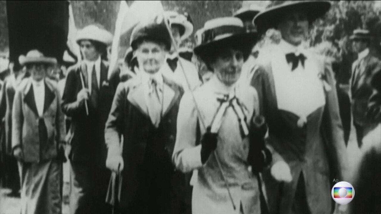 Há cem anos as mulheres britânicas conquistaram o direito de votar