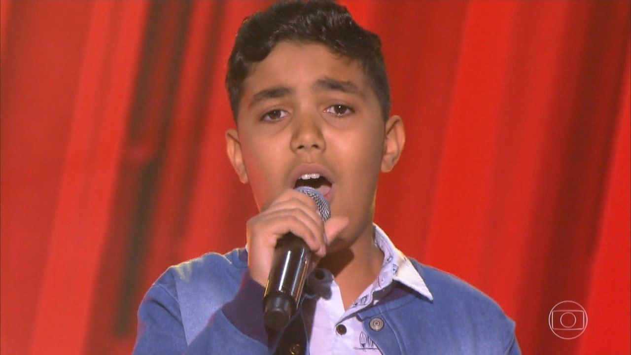 Daniel Arthur de Marilia participa do The Voice Kids 2018