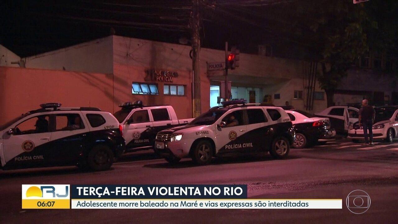 Polícia e Forças Armadas realizam operação na Cidade de Deus