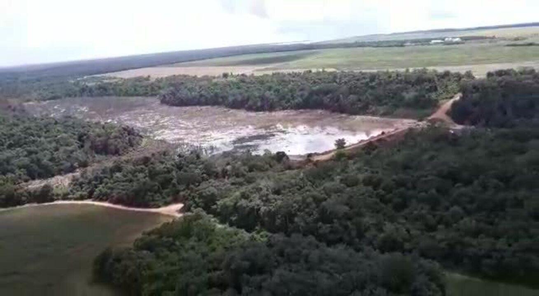 Cinco barragens não suportam volume de água após chuvas e se rompem em MT