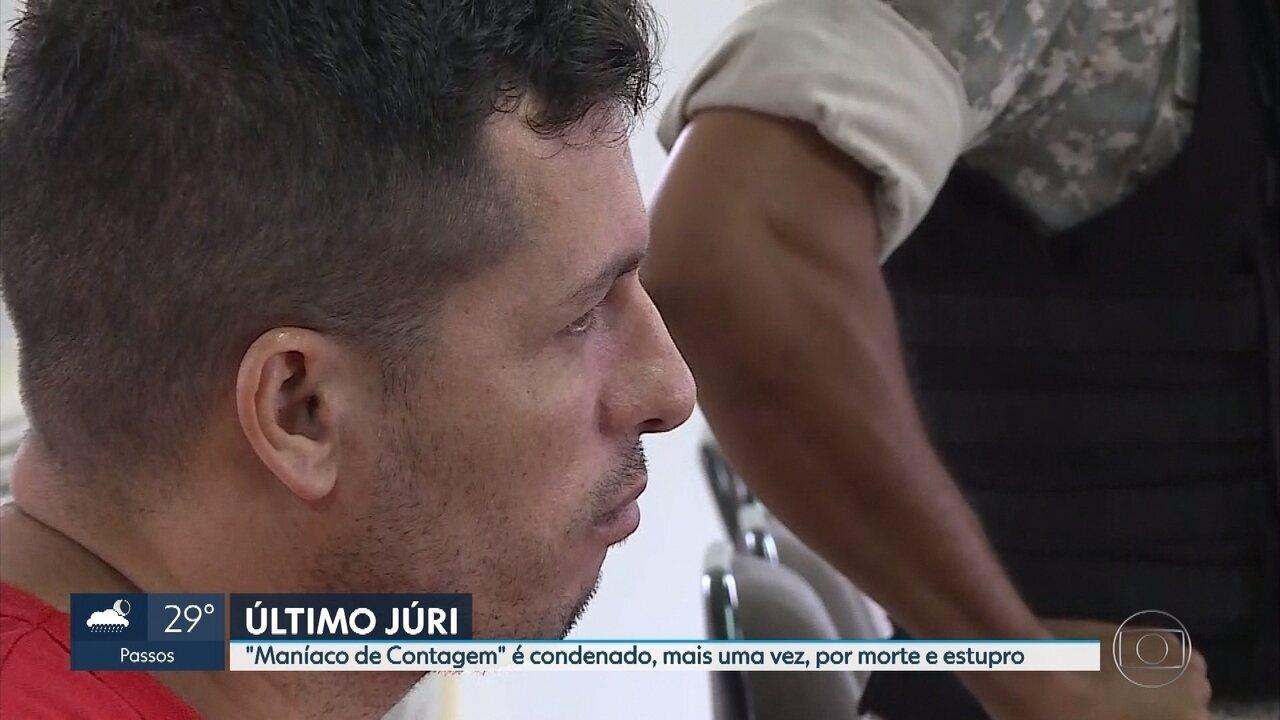 Resultado de imagem para Maníaco de Contagem é julgado por estupro e morte de comerciante