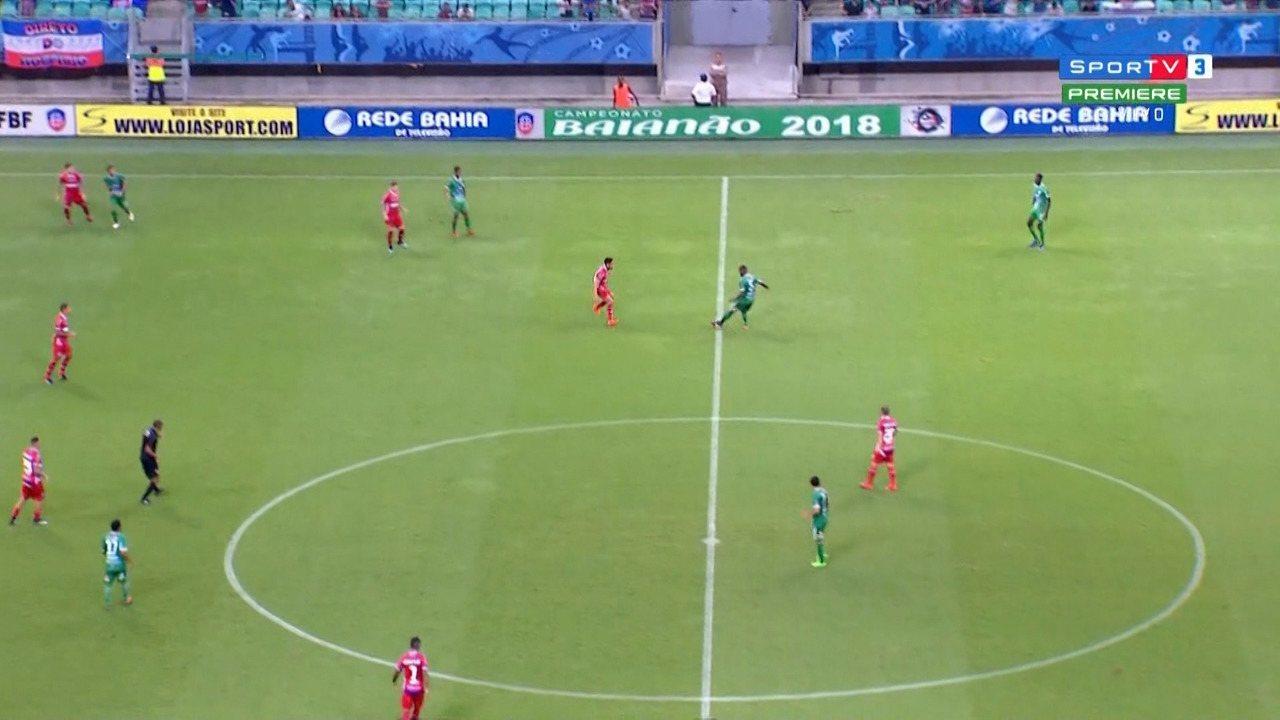 Confira os melhores momentos de Bahia 6 x 1 Vitória da Conquista