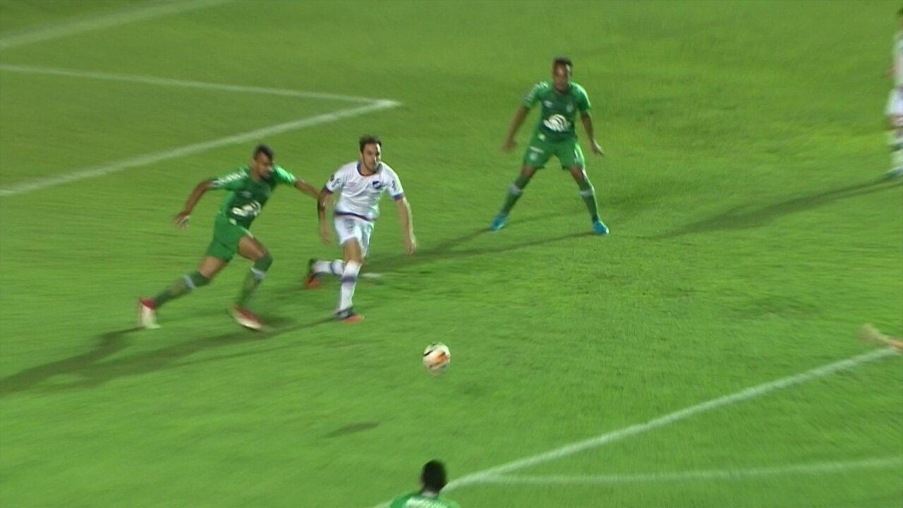 Melhores momentos de Nacional-URU 1 X 0 Chapecoense pela 2ª fase da Taça Libertadores