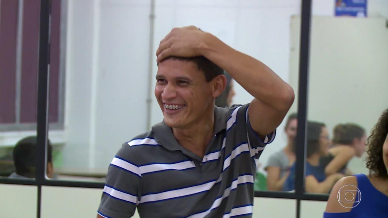 Relembre a história de Danilo no 'Caldeirão ao Cubo'