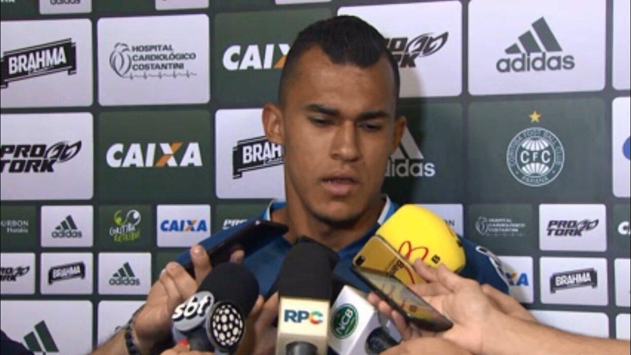 Romércio esquece adversário do Coritiba:
