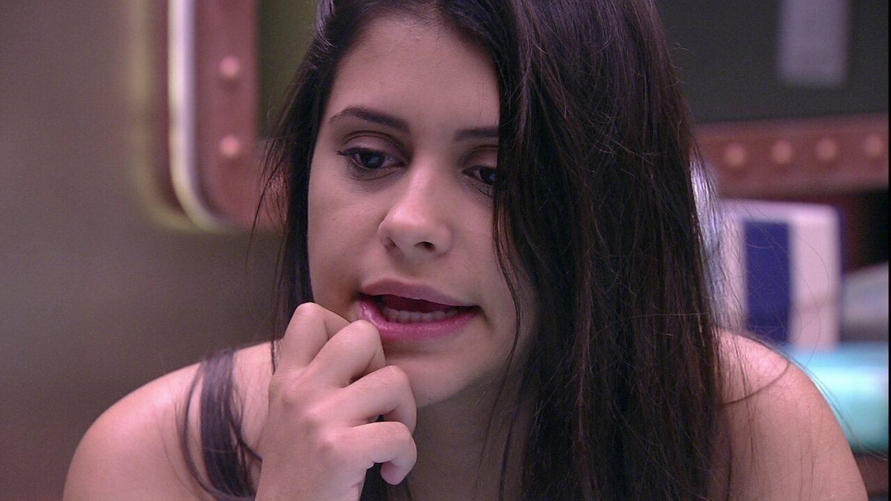 Ana Paula reclama de Patrícia: 'Você não me escuta'