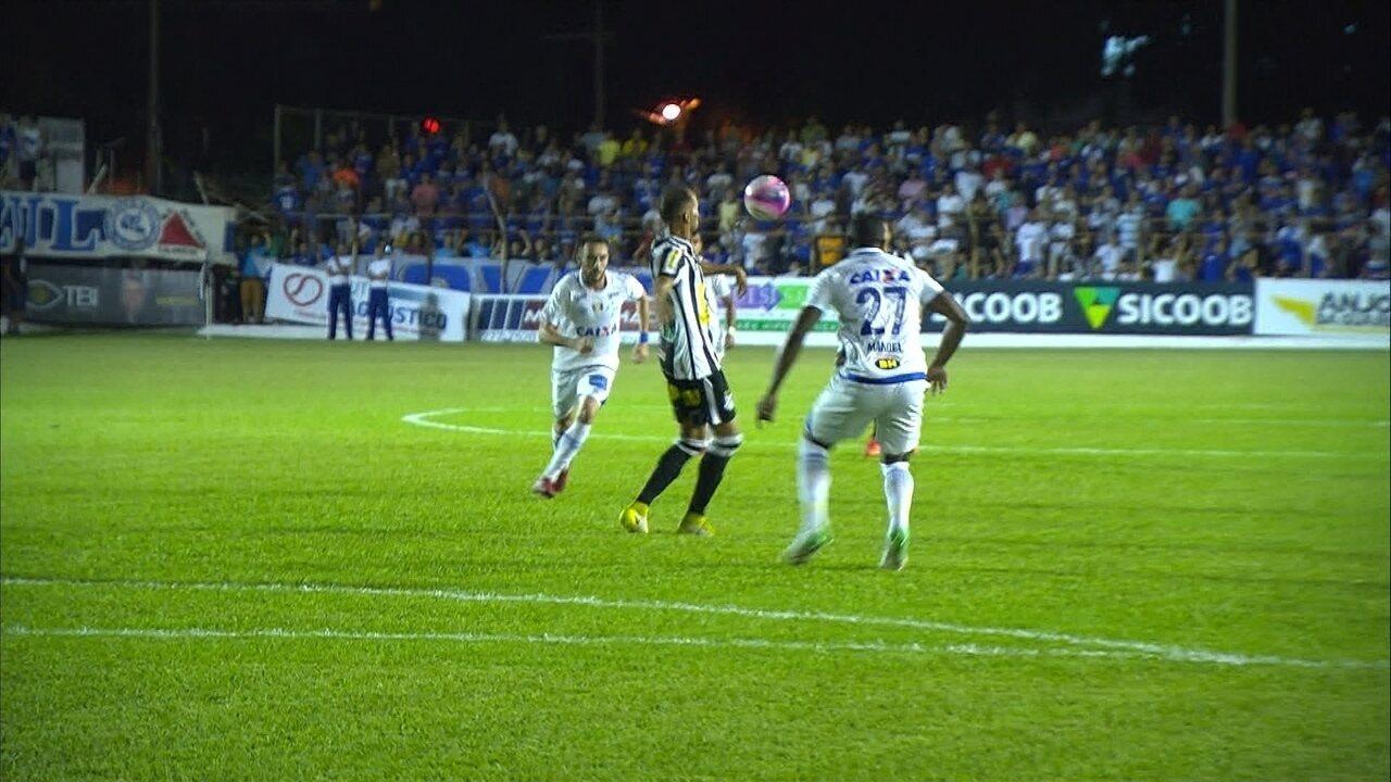 Melhores momentos de Democrata GV 0 x 2 Cruzeiro pelo Campeonato Mineiro