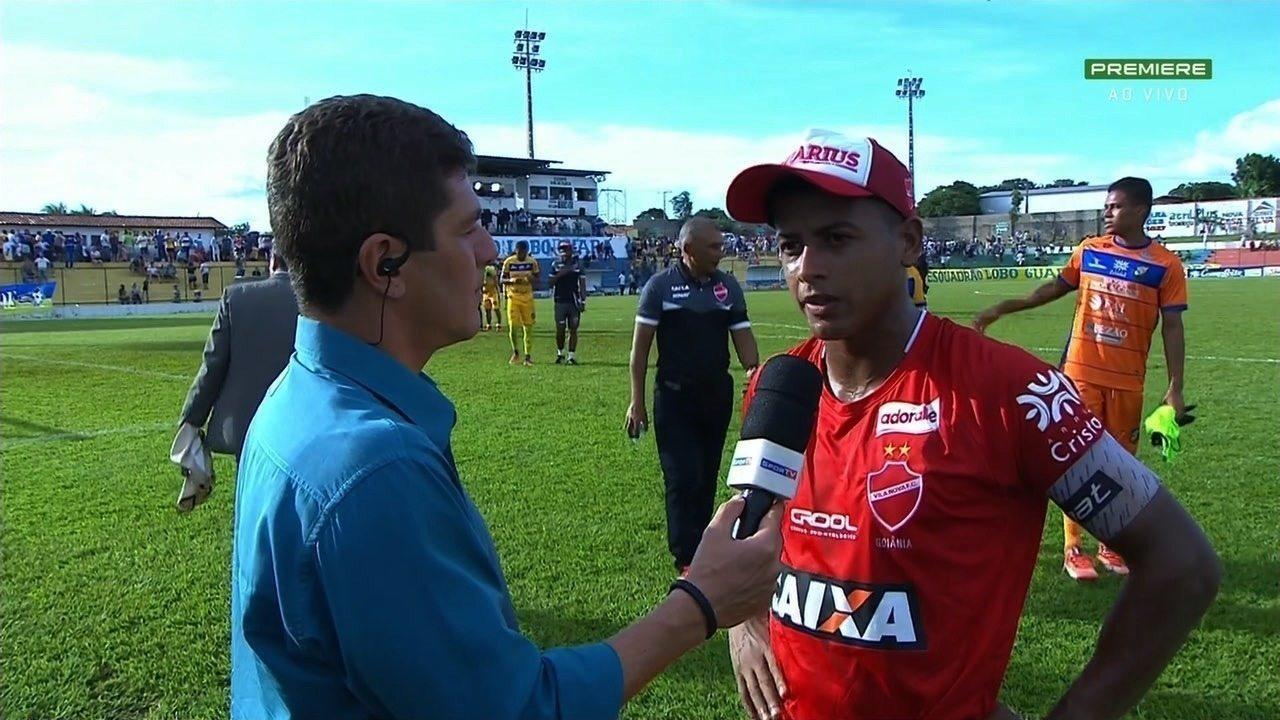 Maguinho comenta empate do Vila e destaca força do grupo
