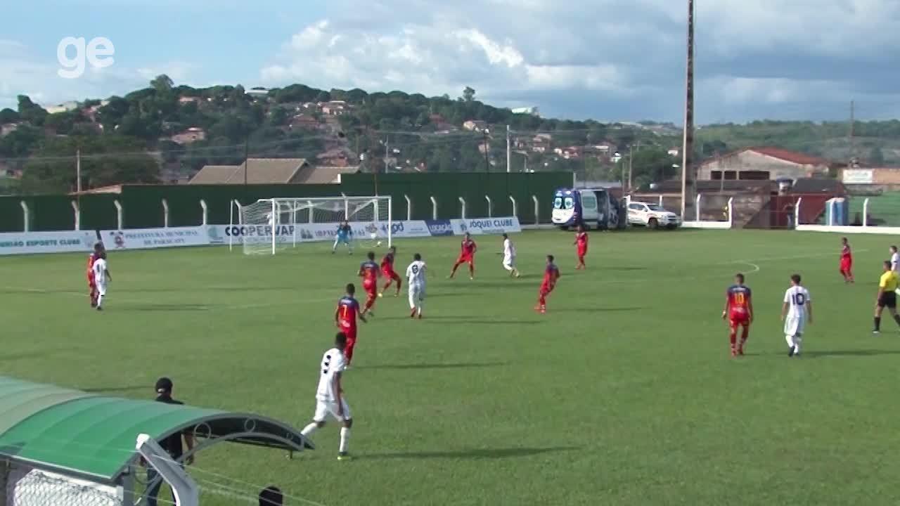 Os gols de Paracatu 1 x 2 Sobradinho pelo Campeonato Brasiliense 2018