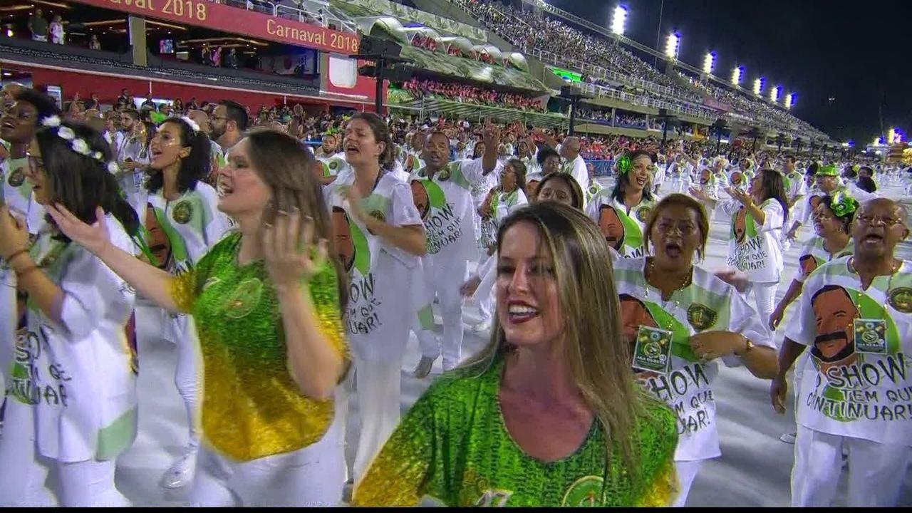 Samba-enredo do Império Serrano leva a China para o Sambódromo