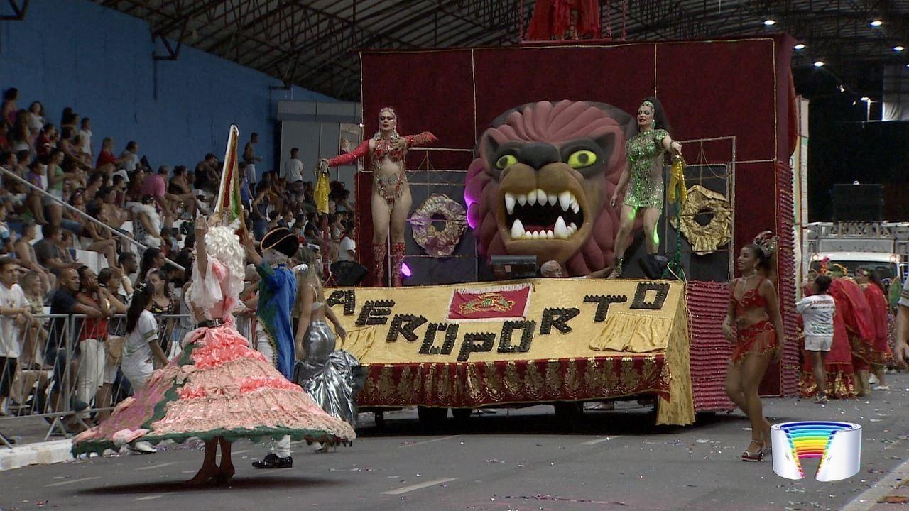 Unidos do Parque Aeroporto é escola campeã no desfile em Taubaté