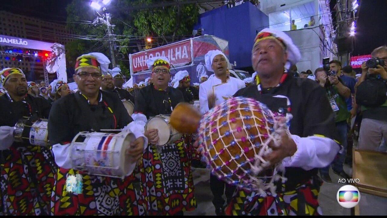 Samba da União da Ilha retrata o