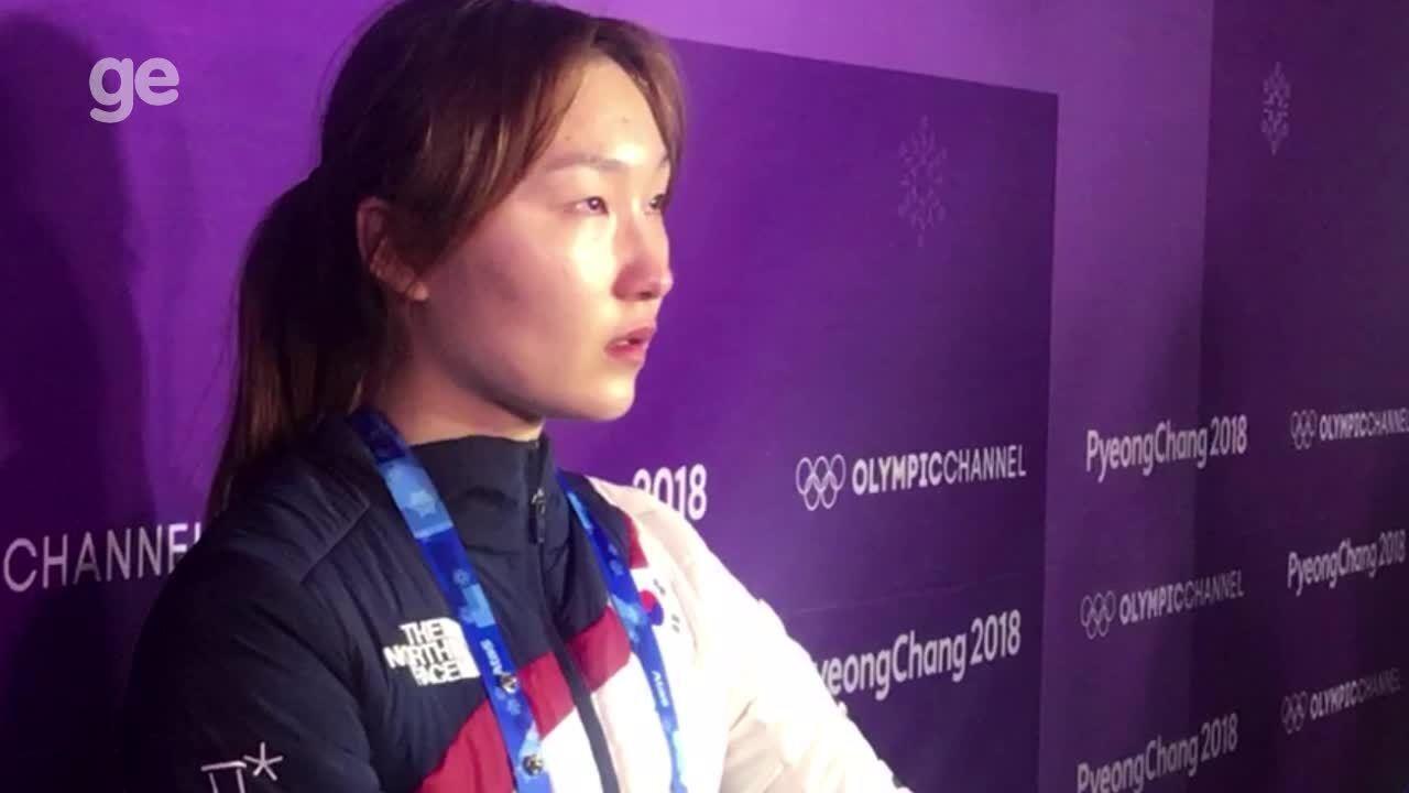 Eliminada pelos juízes em casa, sul-coreana chora: