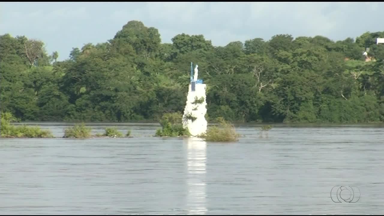 Nível do rio Tocantins sobe cerca de cinco metros após fortes chuvas em Tocantinópolis