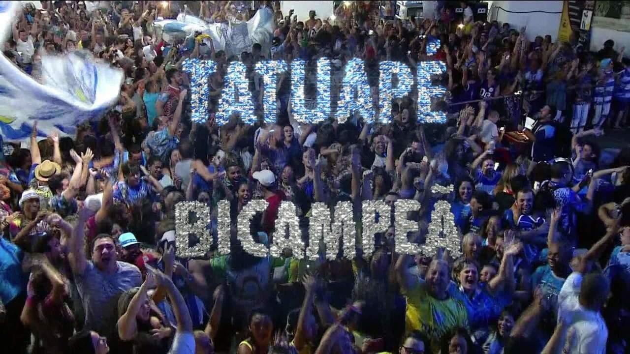 Tatuapé é a bicampeã do carnaval de São Paulo