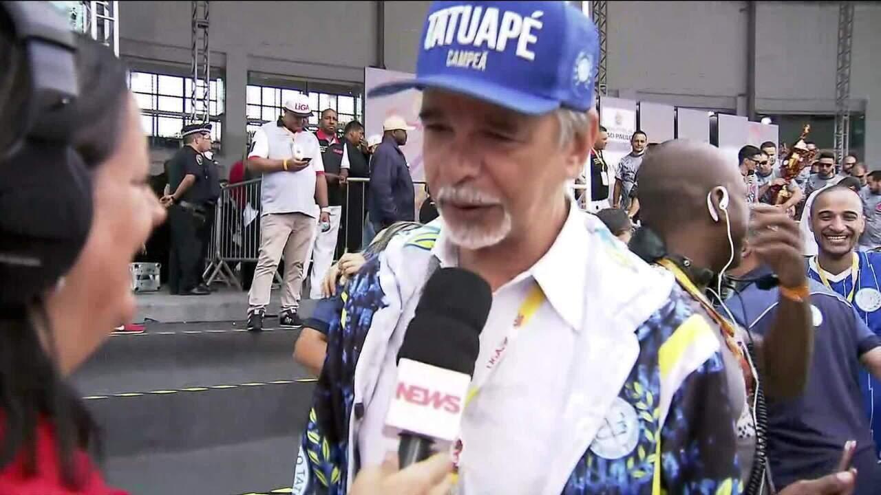 """""""Sonho antigo da diretoria era falar sobre o Maranhão"""", diz carnavalesco da Tatuapé"""