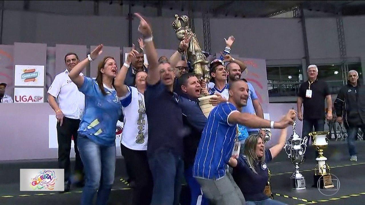 Acadêmicos do Tatuapé conquista o bicampeonato do carnaval paulistano