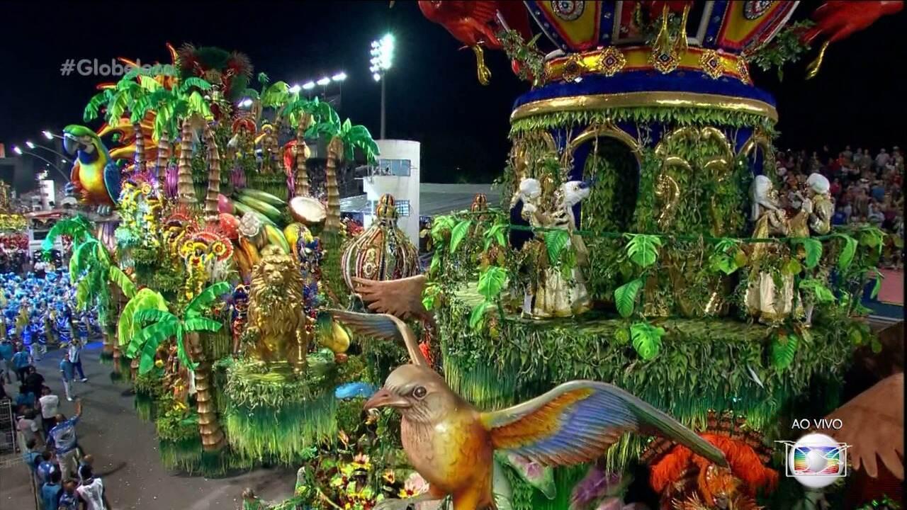 Homenageando o Maranhão. Acadêmicos do Tatuapé vence o Carnaval em São Paulo