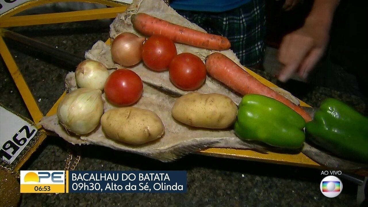 Bacalhau do Batata se prepara para mais um desfile em Olinda