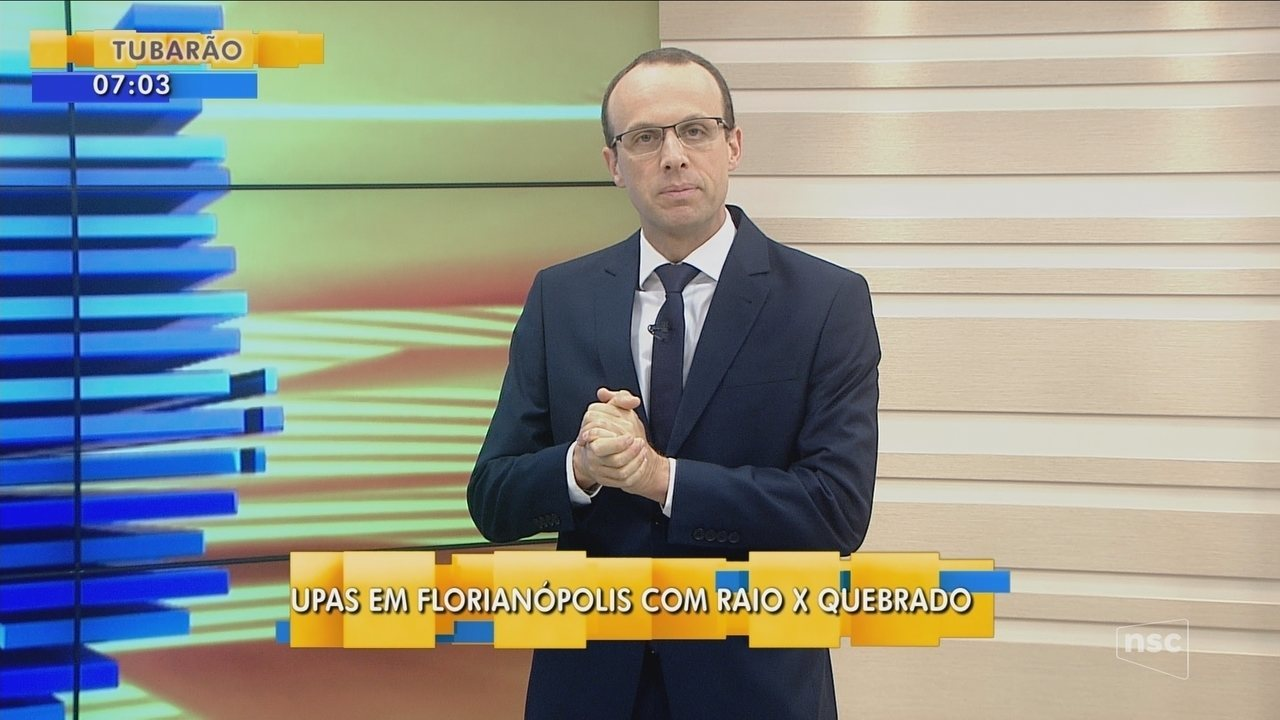 Renato Igor fala sobre UPAs de Florianópolis estarem com o raio-x quebrados