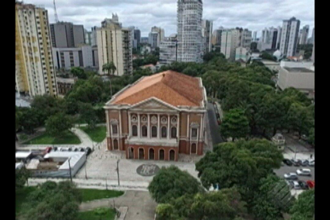 Theatro da Paz, em Belém, completa 140 anos com programação gratuita