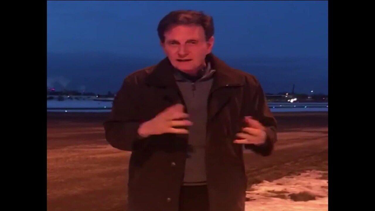 Durante viagem pela Europa, Crivella diz que está 'frio pra chuchu' na Suécia