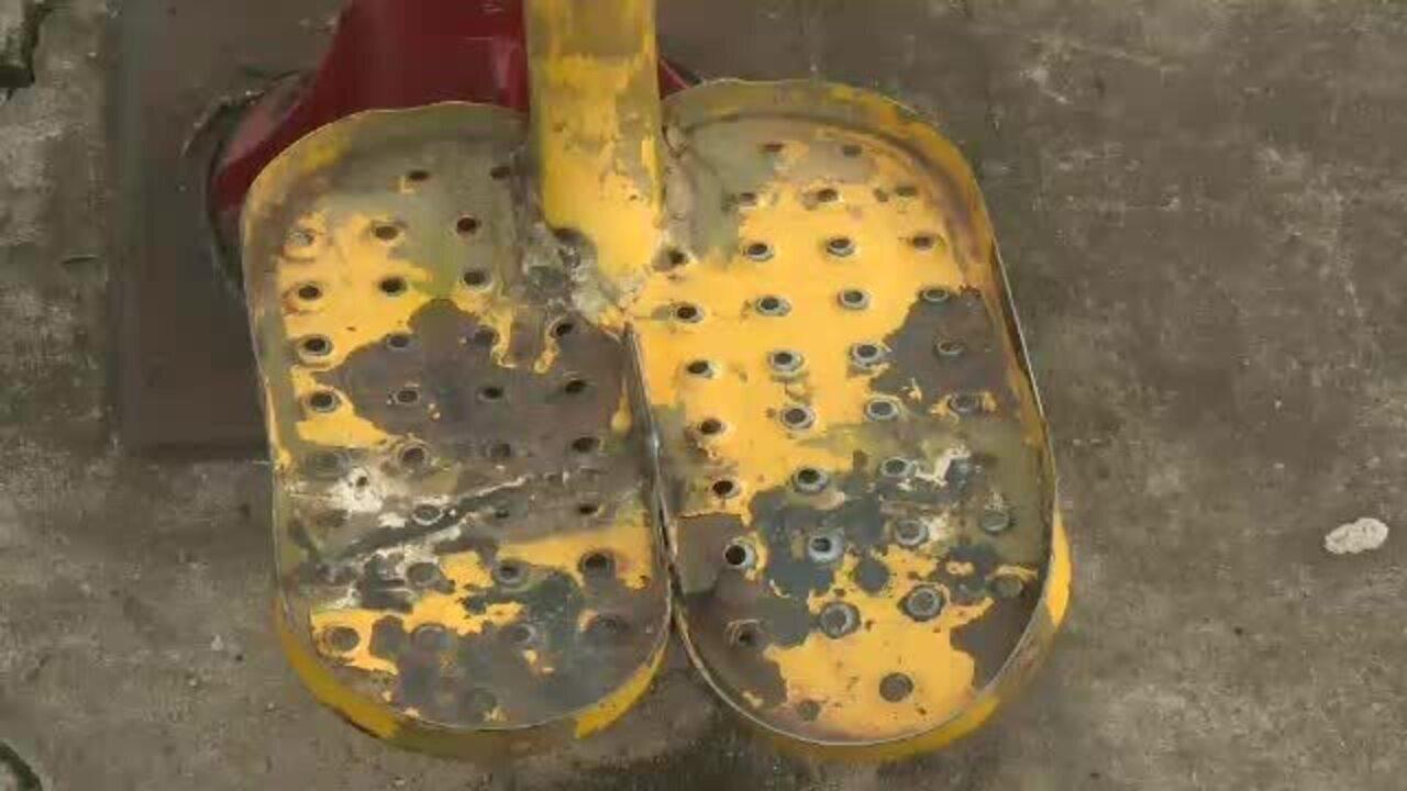 Frequentadores de academias ao ar livre reclamam das condições dos equipamentos