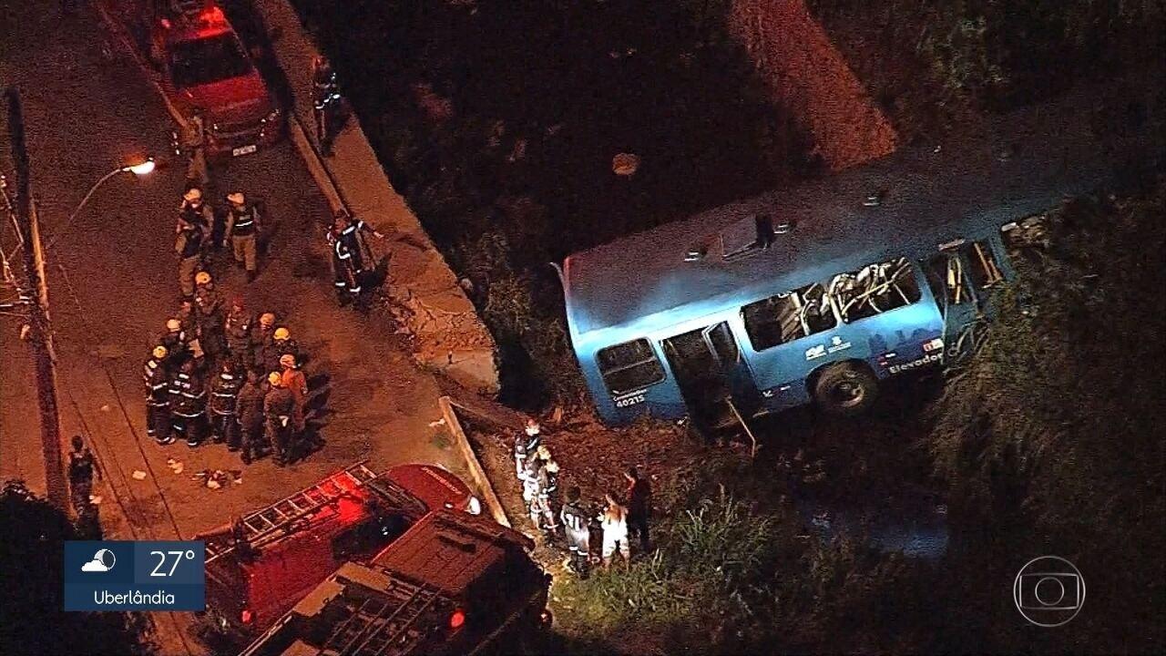 Polícia abre inquérito para apurar responsabilidade pelo grave acidente com ônibus em BH