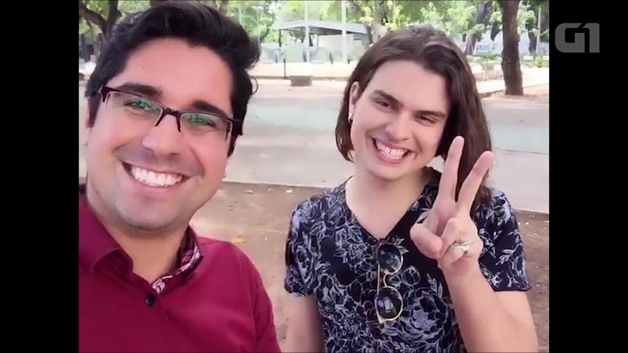 Cantor Maken Oliveira solta a voz no quadro