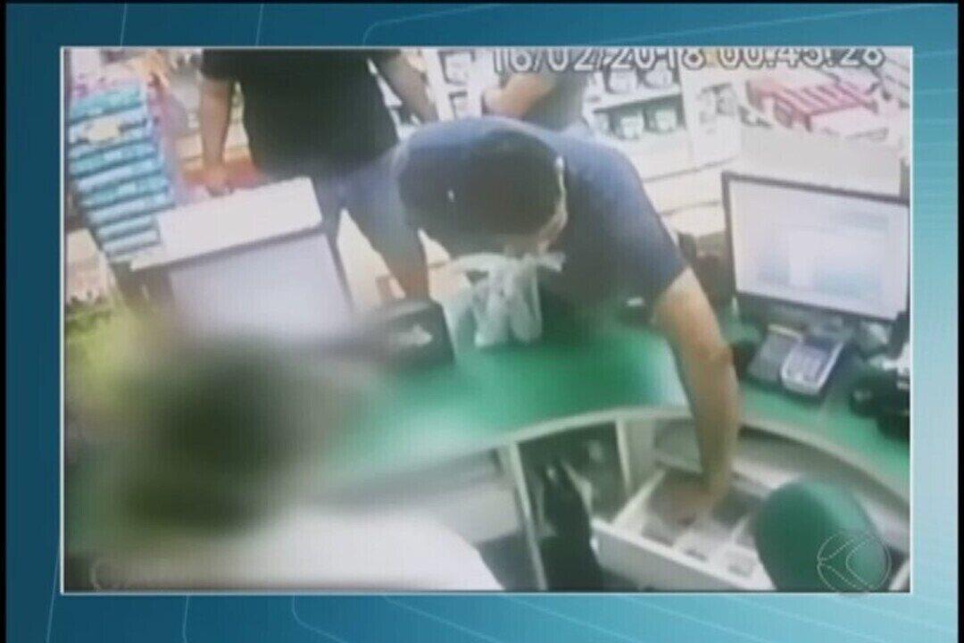 Homem suspeito de praticar assaltos em rede de drogarias é preso em Patrocínio