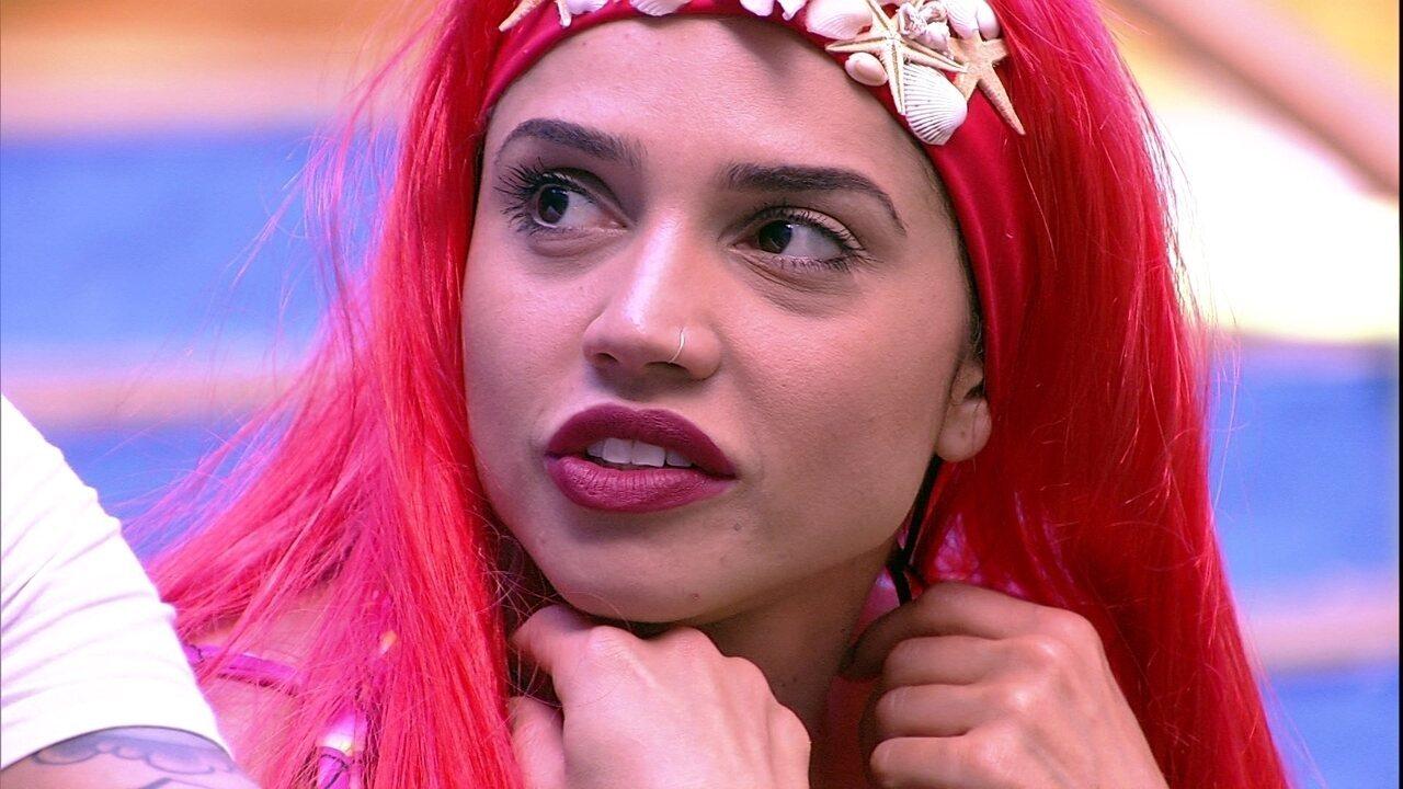 Paula comenta sobre Patrícia e Diego: 'Sempre estão me tirando das provas'