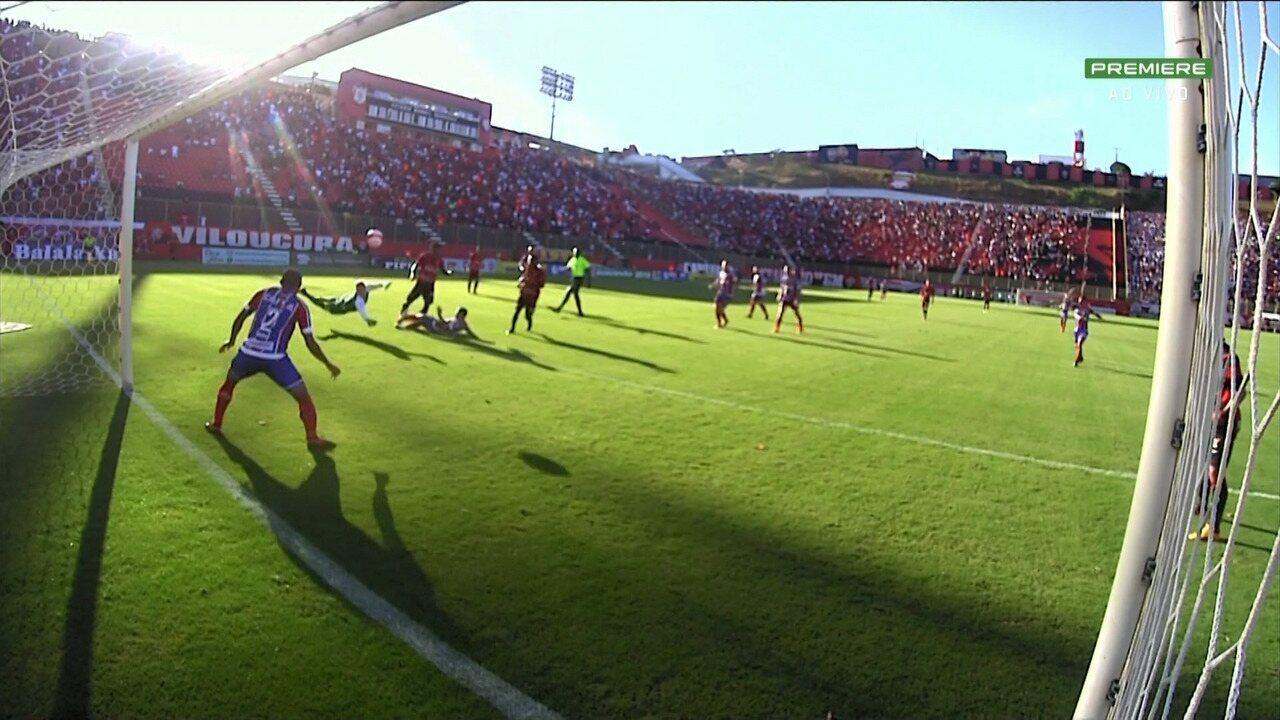 Veja os gols de Vitória 1 x 1 Bahia