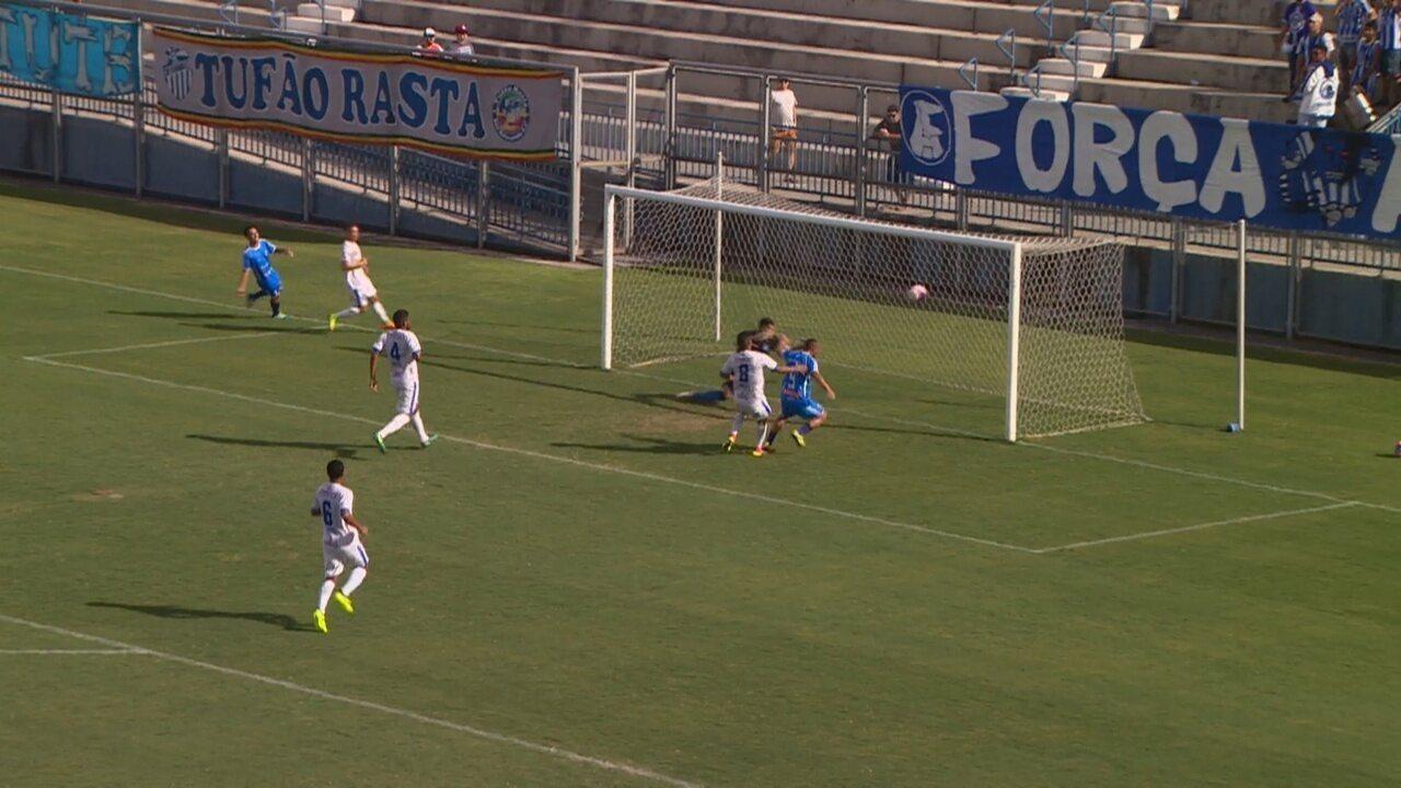 Veja os gols de São Raimundo 1 x 3 Penarol, pelo Amazonense