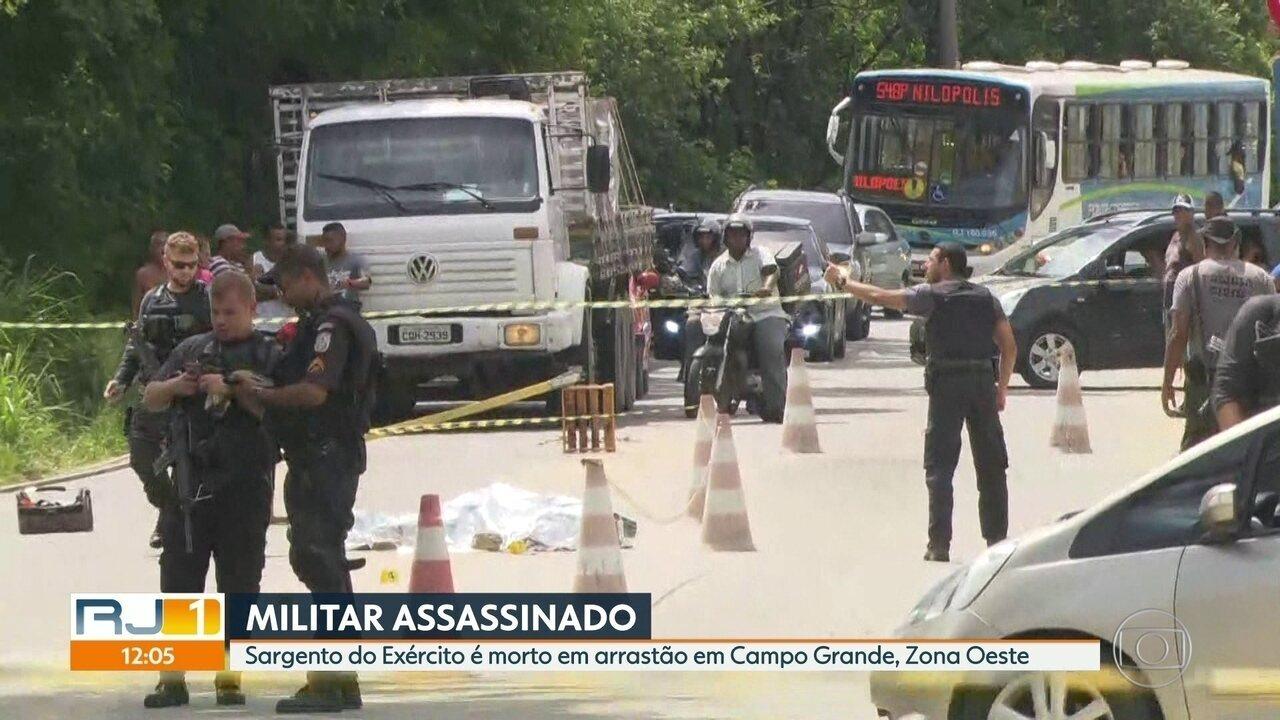 Militar reage a assalto e é morto em Campo Grande
