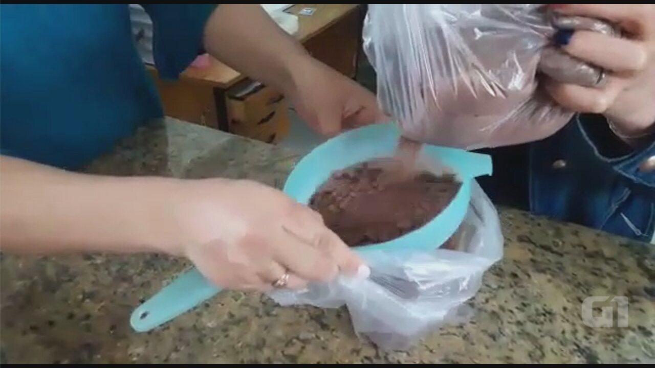 Mulher é apreendida por levar maconha escondida em achocolatado em pó para filho na cadeia