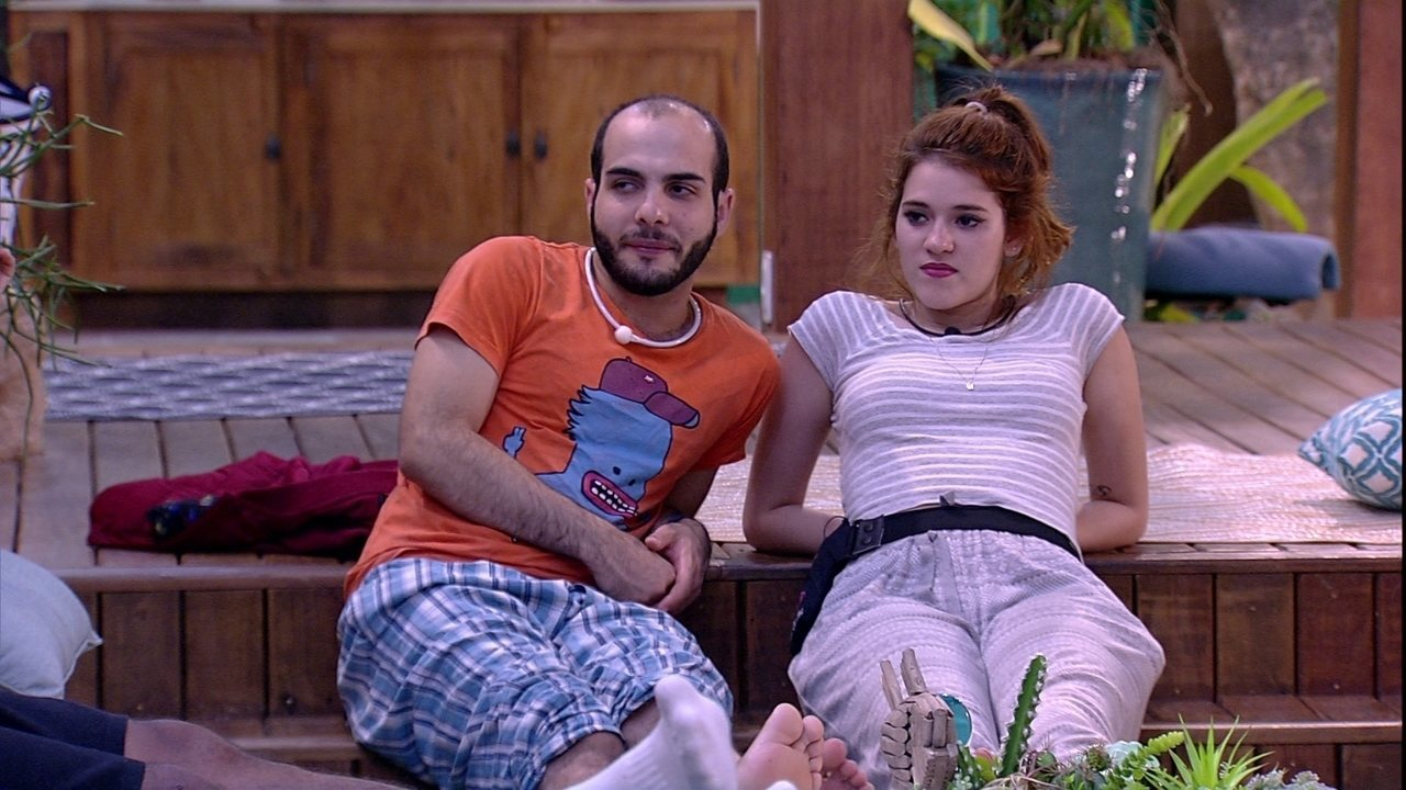 Mahmoud lembra: 'Só teve dois homens que foram para o Paredão: eu e o Ayrton'