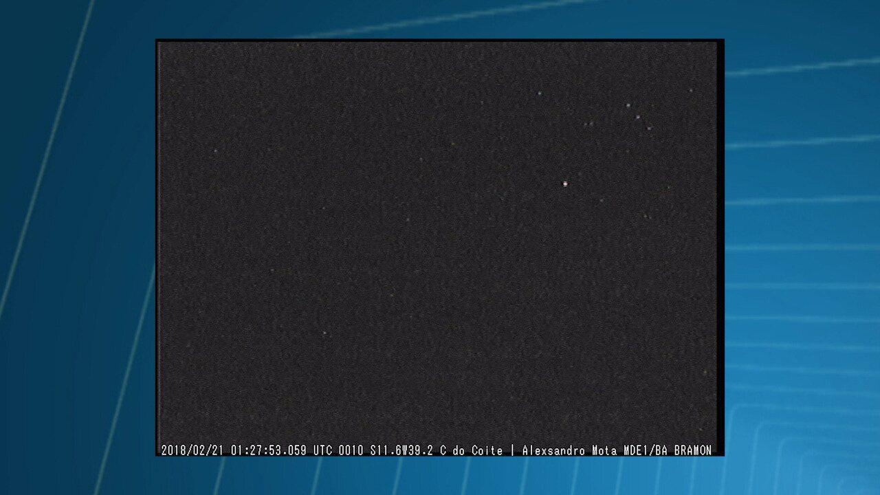 Astrônomo amador registra clarão no céu da Bahia