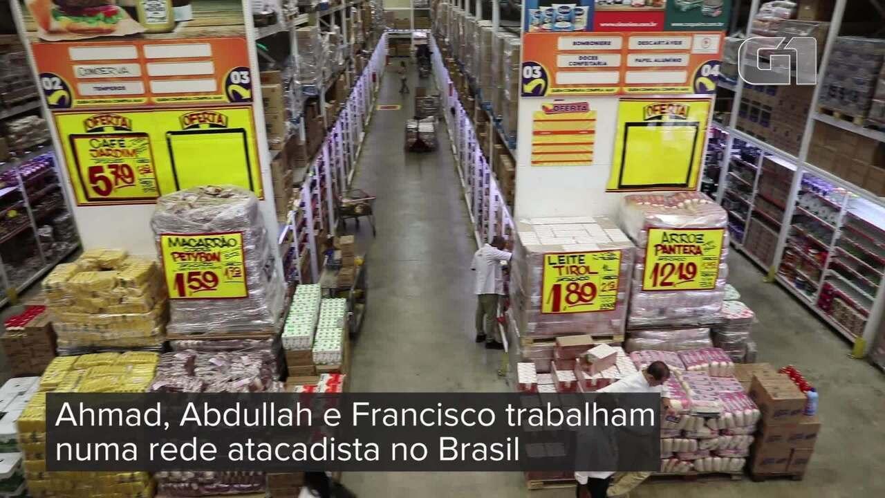 Rede de supermercados emprega funcionários estrangeiros em SP