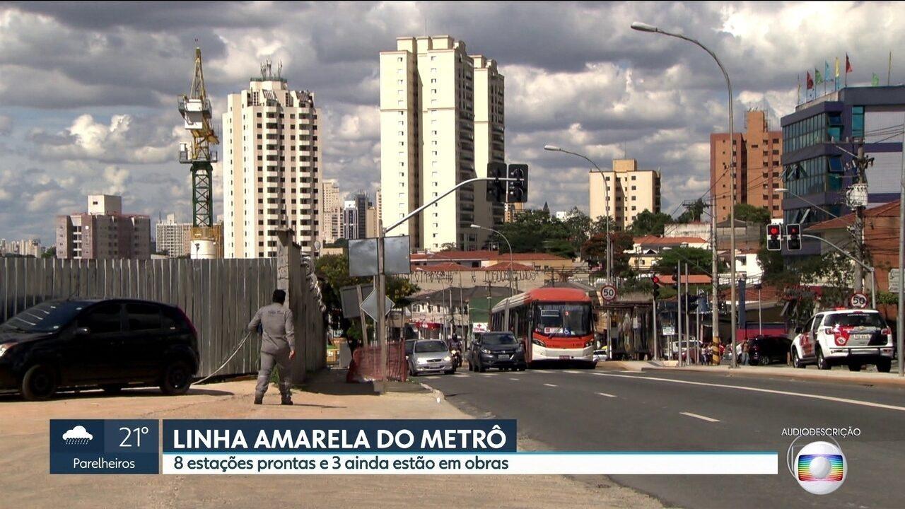 Linha amarela do metrô vai ganhar nova estação na Oscar Freire