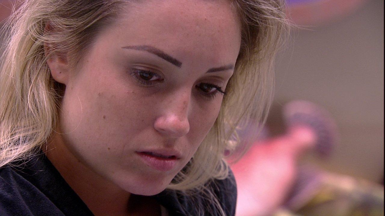 Patrícia declara: 'A casa vai no Diego'