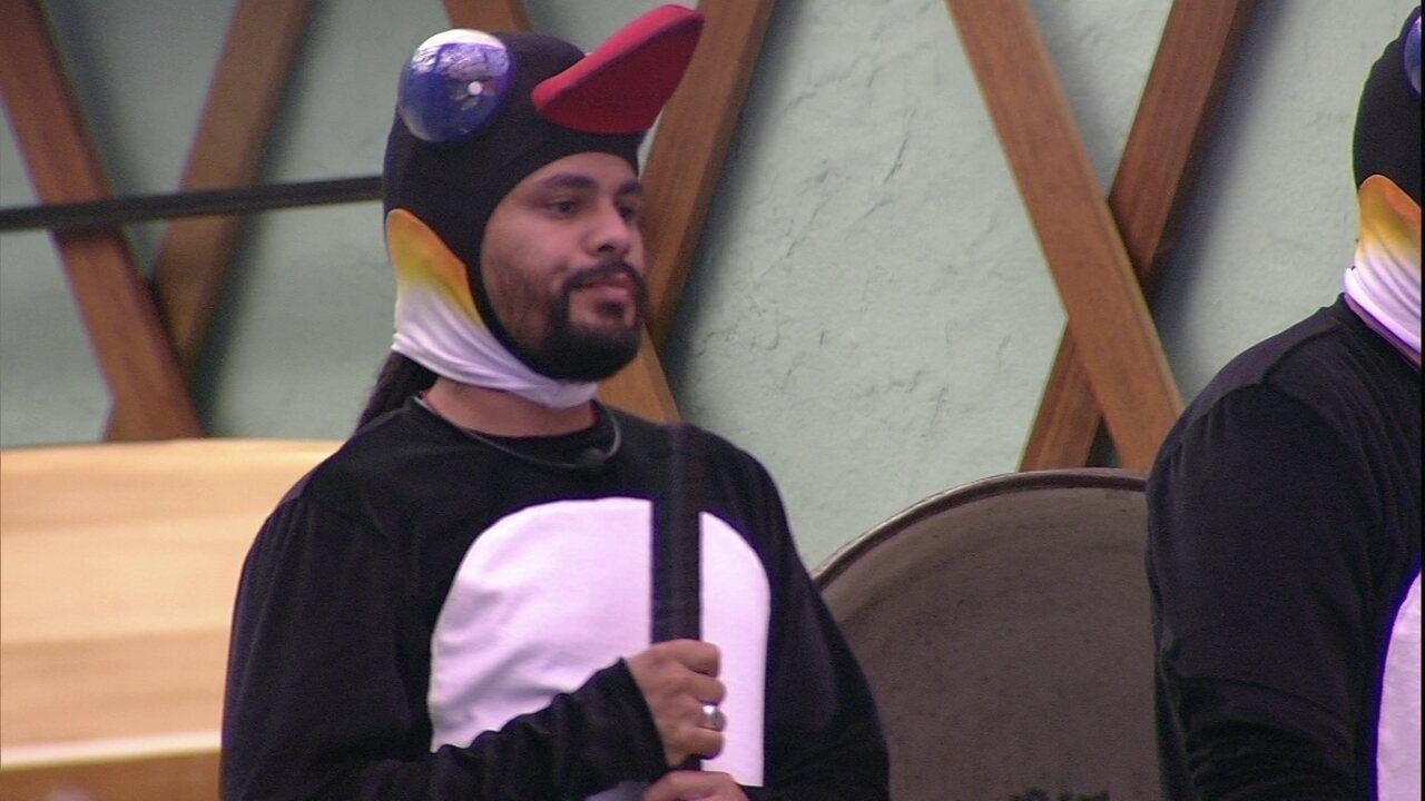 Mahmoud vence Viegas na segunda rodada da Prova da Comida
