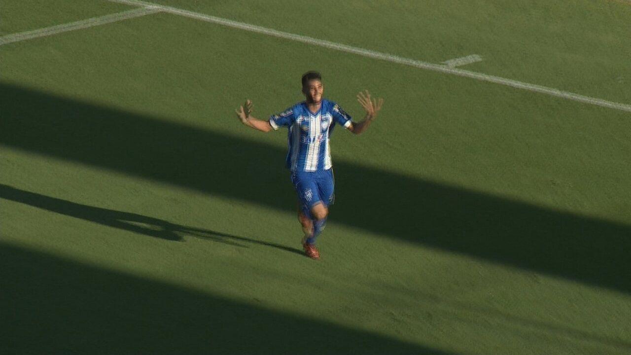 Gol do Avaí! Getúlio coloca novamente o Avaí na frente contra Inter de Lages