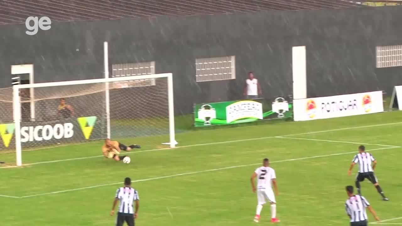 O gol de Ceilândia 1 x 0 Sobradinho pelo Campeonato Brasiliense 2018