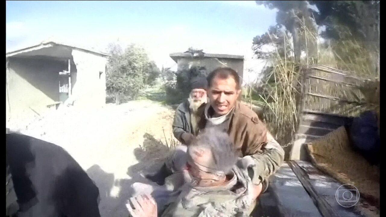 Vinte e quatro pessoas morreram em bombardeios na Síria, apesar do cessar-fogo da ONU