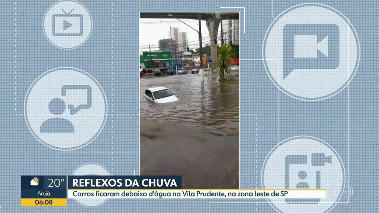 Temporal deixou a capital paulista em estado de atenção