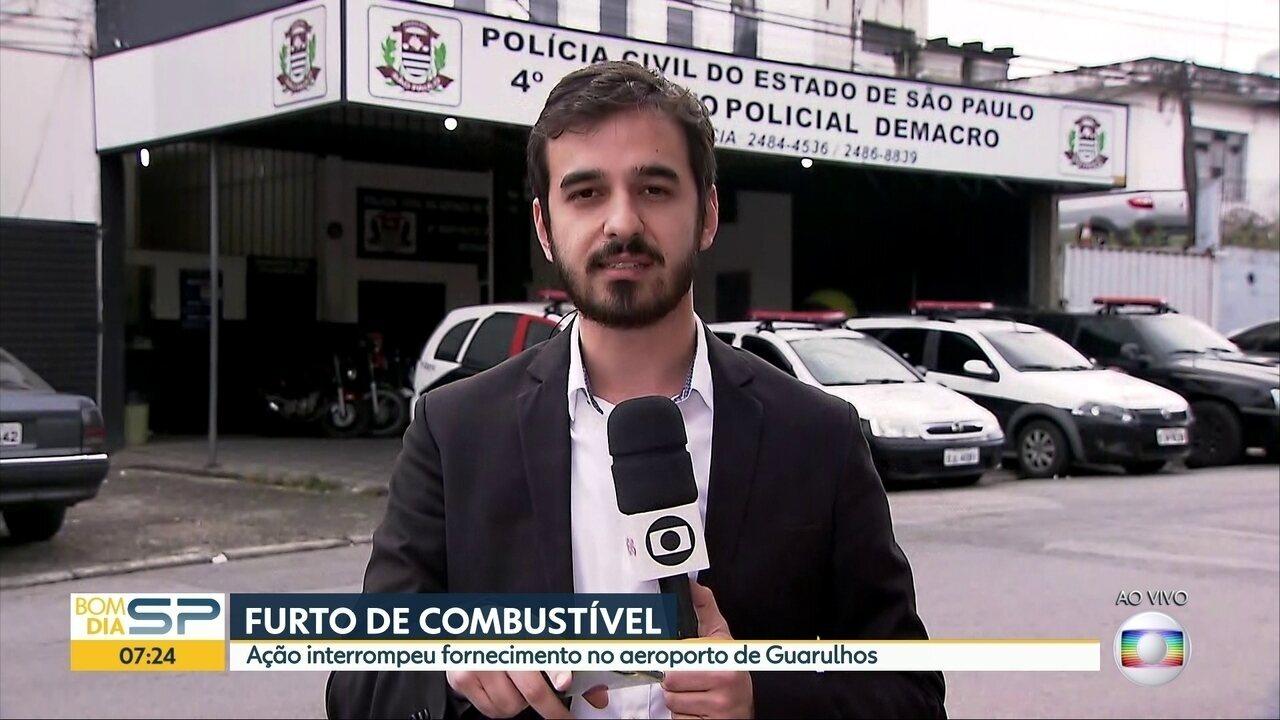 Furto de combustível em oleoduto interrompe fornecimento para o aeroporto de Guarulhos