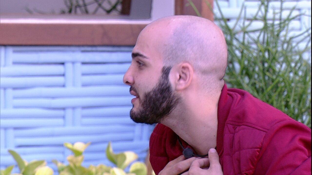 Mahmoud se compara a Caruso: 'Tenho potencial de explosão'